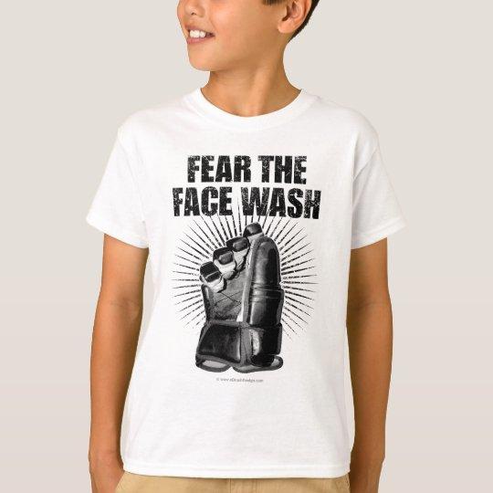 Fear The Face Wash (Hockey) T-Shirt