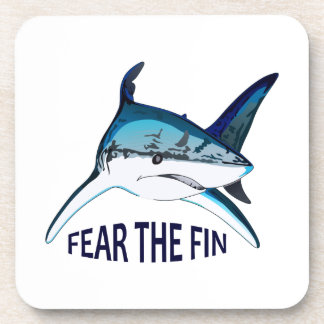 FEAR THE FIN DRINK COASTERS
