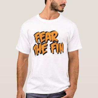 Fear the Fin Logo (Orange) T-Shirt
