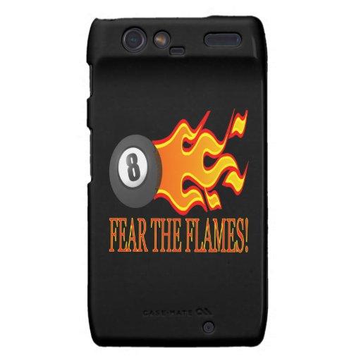 Fear The Flames Motorola Droid RAZR Cover