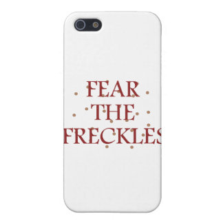 Fear the Freckles iPhone SE/5/5s Cover