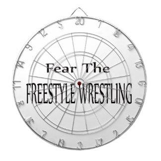 Fear the Freestyle Wrestling. Dart Boards