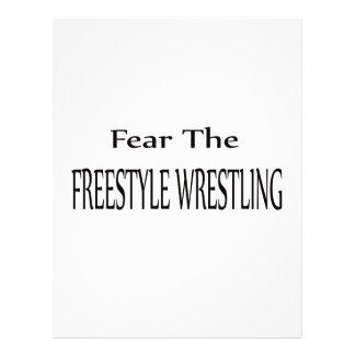 Fear the Freestyle Wrestling. Letterhead