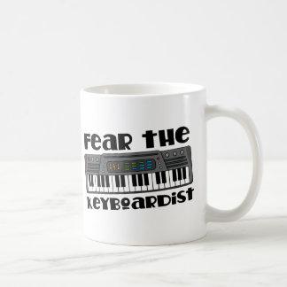 Fear the Keyboardist (Funny Keyboard) Mugs