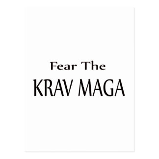Fear the Krav Maga. Postcard
