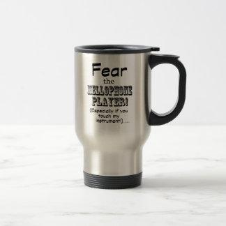 Fear The Mellophone Player Travel Mug