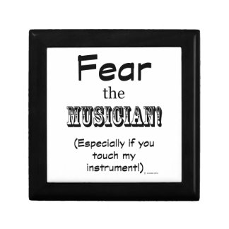 Fear The Musician Gift Boxes