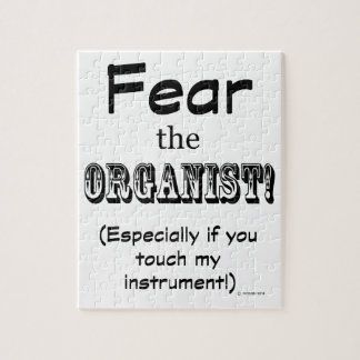 Fear The Organist Puzzle