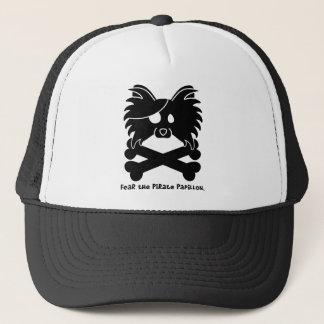 Fear the Pirate Papillon Trucker Hat