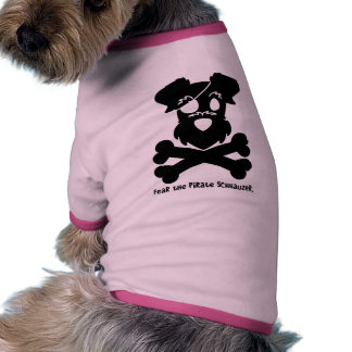 Fear the Pirate Schnauzer Dog Clothes