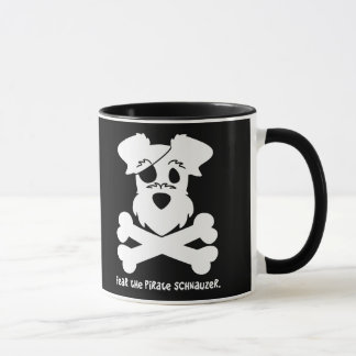 Fear the Pirate Schnauzer Mug