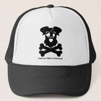 Fear the Pirate Schnauzer Trucker Hat