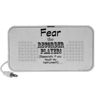 Fear The Recorder Player Speaker System