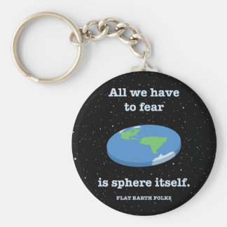 Fear the Sphere Keychain