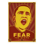 Fear the State Poster