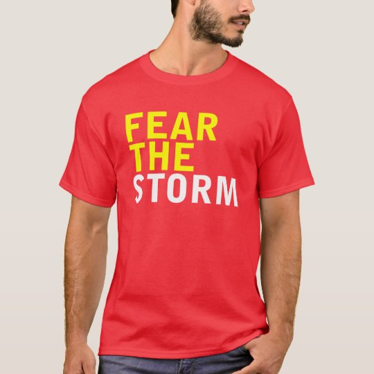 Fear The Storm - White T-Shirt