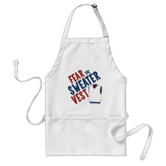 Fear the Sweater Vest Adult Apron