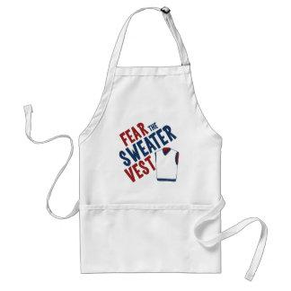 Fear the Sweater Vest Adult Apron