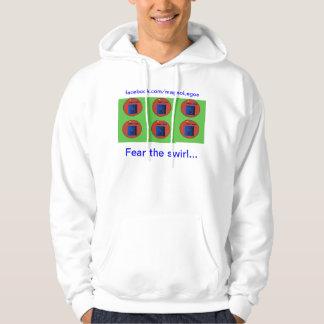 Fear the swirl-huddy hoodie