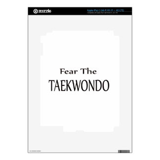 Fear the Taekwondo. Decal For iPad 3
