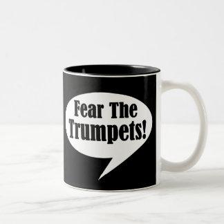 Fear The Trumpet Bubble Talk Music Mugs