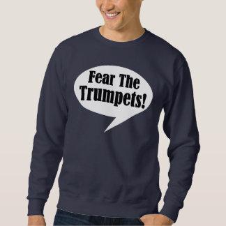 Fear The Trumpet Bubble Talk Music Sweatshirt