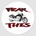 Fear this Black M109R Stickers