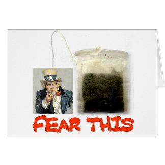 FEAR THIS CARD