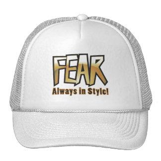 fear too mesh hats