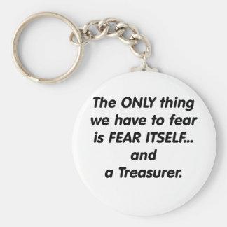 Fear Treasurer Keychain