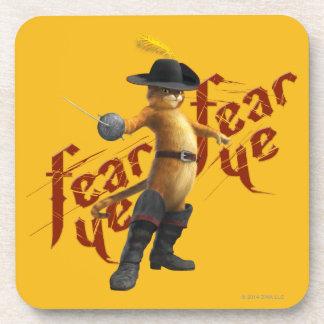 Fear Ye Fear Ye Drink Coaster