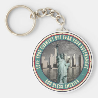 Fear Your Government Keychain