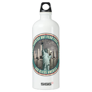 Fear Your Government Water Bottle