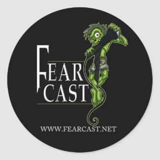 FearCast Harvey Logo Classic Round Sticker
