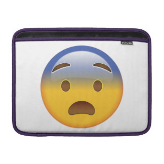 Fearful Face - Emoji MacBook Air Sleeve