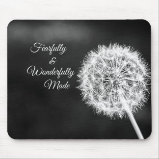 Fearfully and Wonderfully Made Bible Verse Mouse Pad