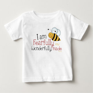 Fearfully and Wonderfully Made Christian Kids Baby T-Shirt