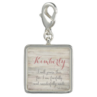 Fearfully & Wonderfully Made - Ps. 139:14 Photo Charms