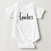 Fearless Baby Outfit Baby Bodysuit