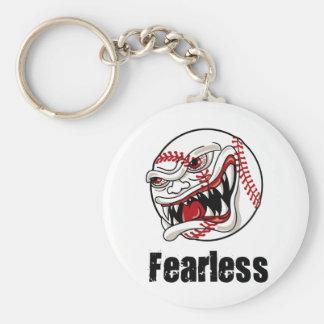 Fearless Baseball Keychain