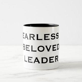 FEARLESS & BELOVED LEADER Two-Tone COFFEE MUG
