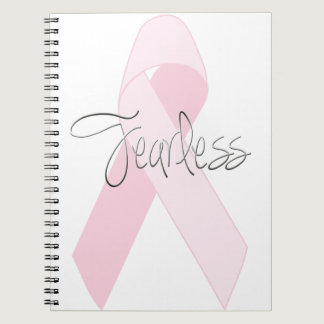 Fearless Breast Cancer Journal or Sketch Book