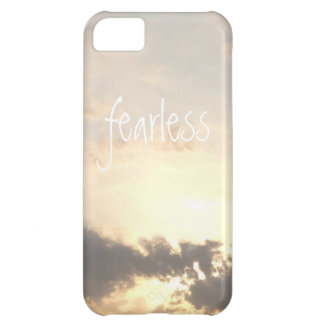 Fearless dawn dusk sky landscape cloud photo iPhone 5C cover