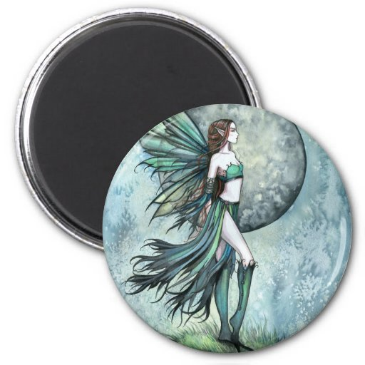 Fearless Gothic Fantasy Molly Harrison Fairy Art Magnet