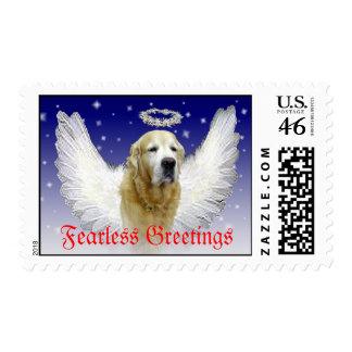 Fearless Greetings Postage Stamp