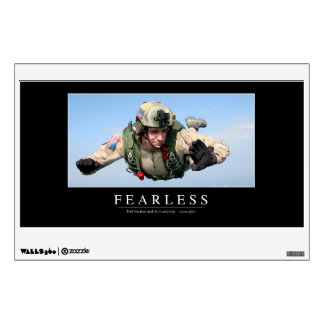 Fearless: Inspirational Quote Wall Sticker