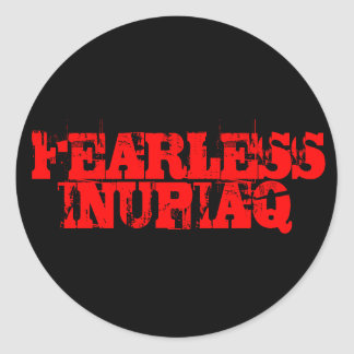 FEARLESS, INUPIAQ STICKERS
