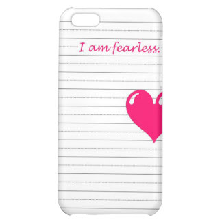 fearless iPhone 5C cases