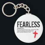 "FEARLESS-JEREMIAH 29:11 KEYCHAIN<br><div class=""desc"">Always keep your favorite verse close to you. Be a witness with this bold design. Jeremiah 29:11 proves you can live without fear through Christ.</div>"