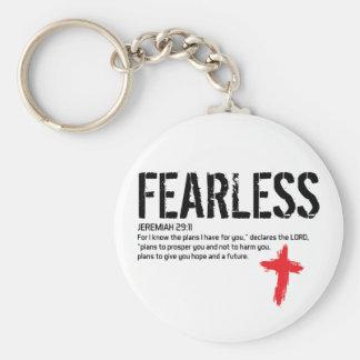 FEARLESS-JEREMIAH 29:11 KEYCHAIN